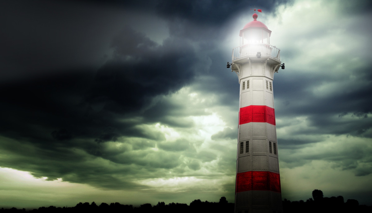 Light Brands - LightHouse inGloomy Night